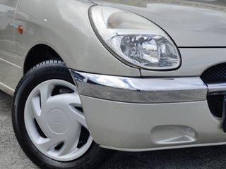 1998 Daihatsu Sirion M100 Silver 4 Speed Automatic Hatchback.