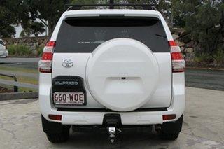 2015 Toyota Landcruiser Prado GDJ150R GXL Glacier White 6 Speed Manual Wagon