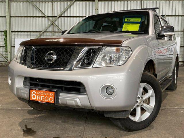 Used Nissan Pathfinder R51 MY10 ST-L Rocklea, 2011 Nissan Pathfinder R51 MY10 ST-L Silver 6 Speed Manual Wagon