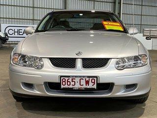 2002 Holden Commodore VX II Equipe Silver 4 Speed Automatic Sedan