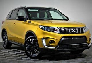 2021 Suzuki Vitara LY Series II Turbo 2WD Solar Yellow & Cosmic Black Roof 6 Speed Sports Automatic.