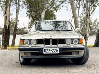 1989 BMW 735il Executive Bronze 4 Speed Automatic Sedan.