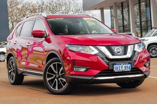2020 Nissan X-Trail T32 Series III MY20 Ti X-tronic 4WD Red 7 Speed Constant Variable Wagon.