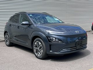 2021 Hyundai Kona Os.v4 MY21 electric Elite Dark Knight 1 Speed Reduction Gear Wagon.