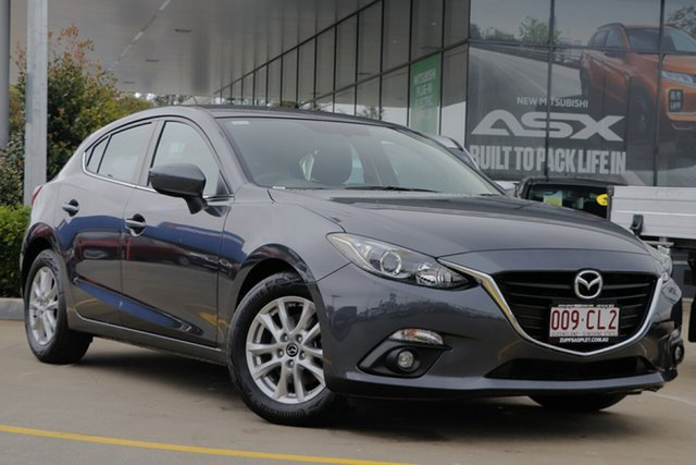 Used Mazda 3 BM5478 Maxx SKYACTIV-Drive Aspley, 2014 Mazda 3 BM5478 Maxx SKYACTIV-Drive Grey 6 Speed Sports Automatic Hatchback