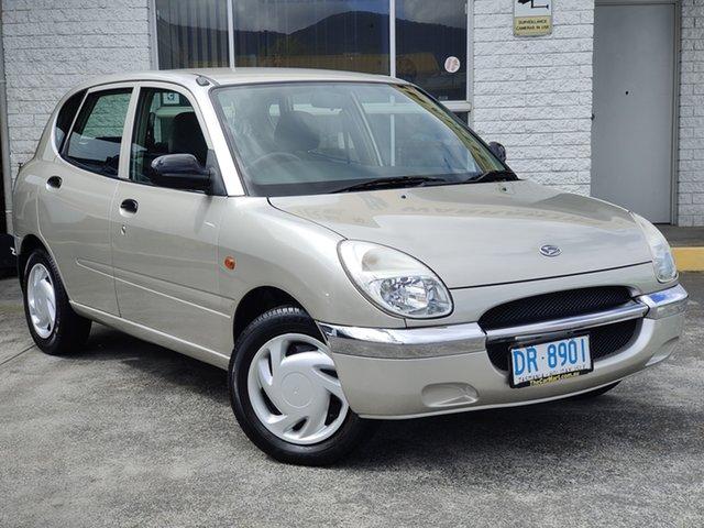 Used Daihatsu Sirion M100 Derwent Park, 1998 Daihatsu Sirion M100 Silver 4 Speed Automatic Hatchback