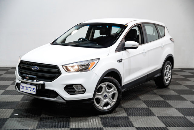 Used Ford Ecosport BL Ambiente Edgewater, 2017 Ford Ecosport BL Ambiente White 6 Speed Automatic Wagon