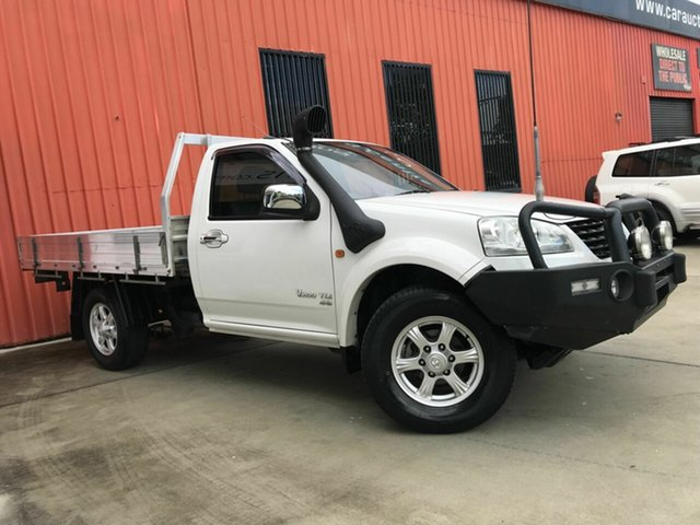 Used Great Wall V200 K2 MY12 Molendinar, 2012 Great Wall V200 K2 MY12 White 6 Speed Manual Cab Chassis
