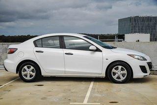 2010 Mazda 3 BL10F1 Neo Activematic White 5 Speed Sports Automatic Sedan.