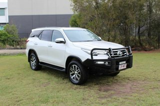2016 Toyota Fortuner GUN156R Crusade Pearl White 6 Speed Automatic Wagon.