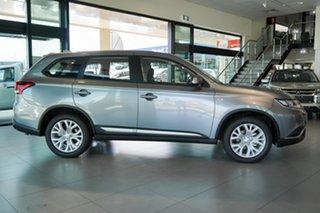 2021 Mitsubishi Outlander ZL MY21 ES AWD Titanium Grey 6 Speed Constant Variable Wagon.