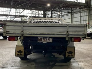 2009 Ford Falcon FG Super Cab White 4 Speed Automatic Cab Chassis