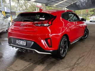 2019 Hyundai Veloster JS MY20 Turbo Coupe D-CT Premium Red 7 Speed Sports Automatic Dual Clutch