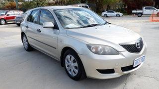 2004 Mazda 3 BK10F1 Neo Silver 5 Speed Manual Hatchback.