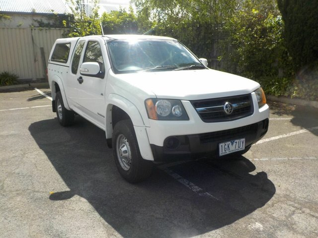 Used Holden Colorado RC MY09 LX (4x2) Newtown, 2009 Holden Colorado RC MY09 LX (4x2) White 4 Speed Automatic Space Cab Pickup
