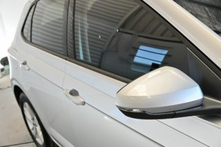 2018 Volkswagen Polo AW MY18 70TSI DSG Trendline Silver 7 Speed Sports Automatic Dual Clutch.
