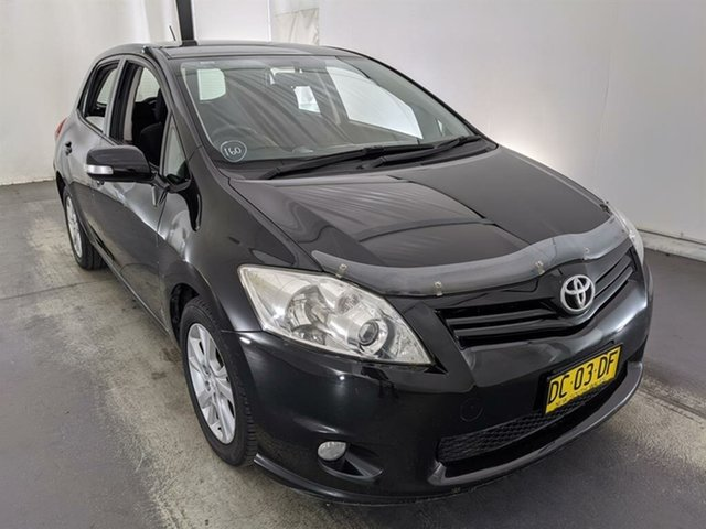 Used Toyota Corolla ZRE152R MY10 Ascent Maryville, 2010 Toyota Corolla ZRE152R MY10 Ascent Black 4 Speed Automatic Hatchback