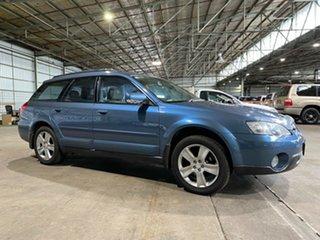 2004 Subaru Outback B4A MY05 R AWD Premium Pack Blue 5 Speed Sports Automatic Wagon.