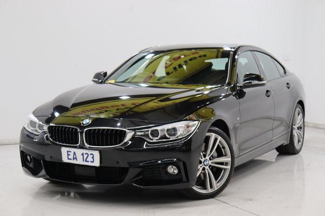 Used BMW 4 Series F36 435i Gran Coupe Brooklyn, 2015 BMW 4 Series F36 435i Gran Coupe Black 8 Speed Sports Automatic Hatchback