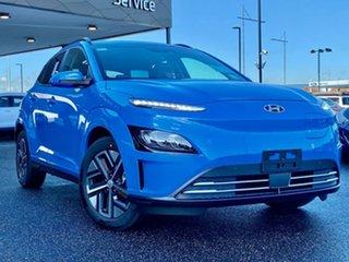2021 Hyundai Kona Os.v4 MY21 electric Highlander Surfy Blue & Black Roof 1 Speed Reduction Gear.