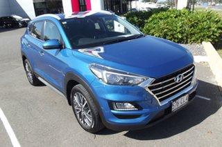 2019 Hyundai Tucson TL3 MY19 Elite AWD Blue 8 Speed Sports Automatic Wagon.