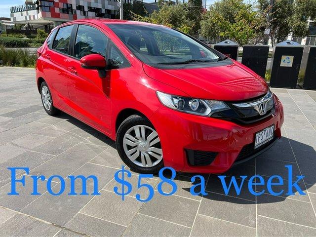 Used Honda Jazz GF MY16 VTi South Melbourne, 2015 Honda Jazz GF MY16 VTi Red 1 Speed Constant Variable Hatchback