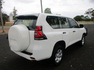 2018 Toyota Landcruiser Prado GDJ150R MY18 GX (4x4) Glacier White 6 Speed Automatic Wagon.