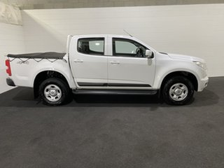 2015 Holden Colorado RG MY15 LT Crew Cab Summit White 6 Speed Sports Automatic Utility