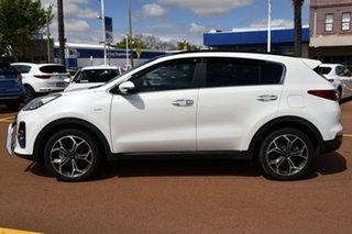 2020 Kia Sportage QL MY20 GT-Line AWD Snow White Pearl 8 Speed Sports Automatic Wagon.