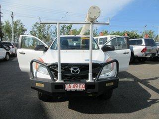 2012 Mazda BT-50 White 6 Speed Manual Extracab.