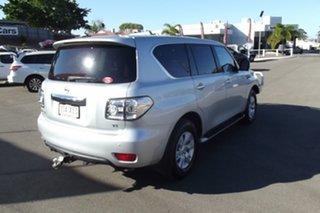 2017 Nissan Patrol Y62 Series 3 TI Silver 7 Speed Sports Automatic Wagon.