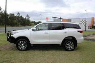 2016 Toyota Fortuner GUN156R Crusade Pearl White 6 Speed Automatic Wagon