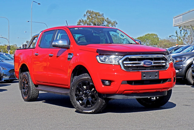 Used Ford Ranger PX MkIII 2019.00MY XLT Ebbw Vale, 2018 Ford Ranger PX MkIII 2019.00MY XLT Red 6 Speed Sports Automatic Utility