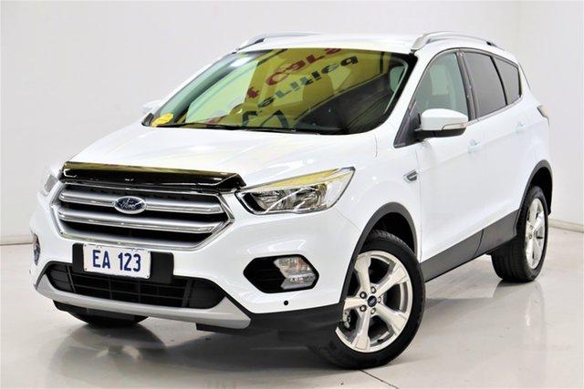 Used Ford Escape ZG MY19.75 Trend (AWD) Brooklyn, 2020 Ford Escape ZG MY19.75 Trend (AWD) White 6 Speed Automatic Wagon