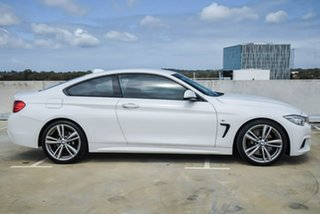 2014 BMW 4 Series F32 428i M Sport White 8 Speed Sports Automatic Coupe.
