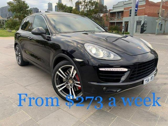 Used Porsche Cayenne 92A MY11 Turbo Tiptronic South Melbourne, 2011 Porsche Cayenne 92A MY11 Turbo Tiptronic Black 8 Speed Sports Automatic Wagon
