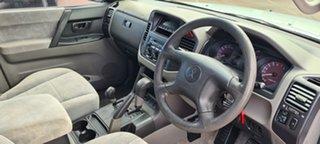 2002 Mitsubishi Pajero NP GLS Silver 5 Speed Sports Automatic Wagon