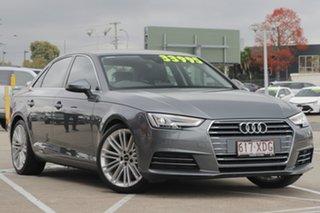 2016 Audi A4 B9 8W MY16 Sport S Tronic Dark Grey 7 Speed Sports Automatic Dual Clutch Sedan.