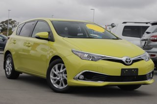 2017 Toyota Corolla ZRE182R Ascent Sport S-CVT Yellow 7 Speed Constant Variable Hatchback.