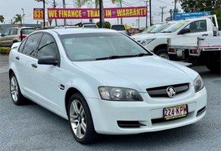 2007 Holden Commodore VE Omega White 4 Speed Automatic Sedan.