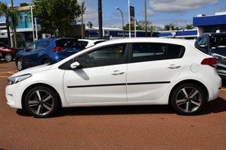 2018 Kia Cerato YD MY18 Sport Snow White Pearl 6 Speed Sports Automatic Hatchback.