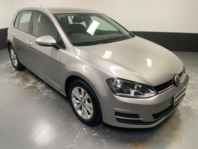 Used Volkswagen Golf VII MY17 92TSI DSG Comfortline Cardiff, 2016 Volkswagen Golf VII MY17 92TSI DSG Comfortline Silver 7 Speed Sports Automatic Dual Clutch