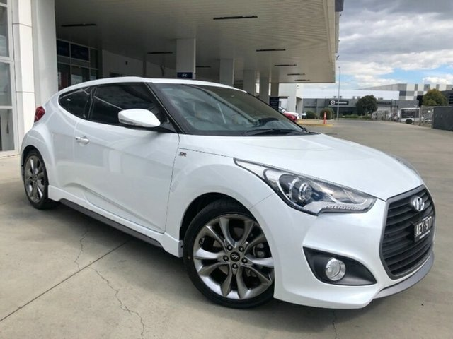 Used Hyundai Veloster FS4 Series II SR Coupe D-CT Turbo + Ravenhall, 2015 Hyundai Veloster FS4 Series II SR Coupe D-CT Turbo + Storm Trooper 7 Speed