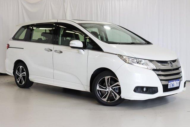 Used Honda Odyssey RC MY15 VTi-L Wangara, 2015 Honda Odyssey RC MY15 VTi-L White 7 Speed Constant Variable Wagon