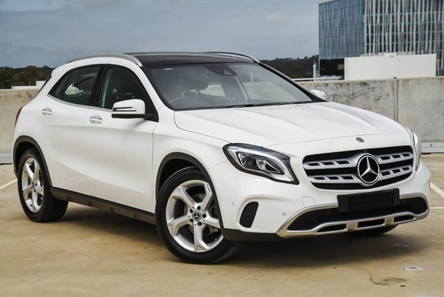 Used Mercedes-Benz GLA-Class X156 808+058MY GLA220 d DCT Osborne Park, 2018 Mercedes-Benz GLA-Class X156 808+058MY GLA220 d DCT White 7 Speed Sports Automatic Dual Clutch