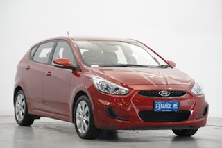 2018 Hyundai Accent RB6 MY18 Sport Red 6 Speed Sports Automatic Hatchback