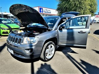 2012 Jeep Compass MK MY12 Limited CVT Auto Stick Grey 6 Speed Constant Variable Wagon
