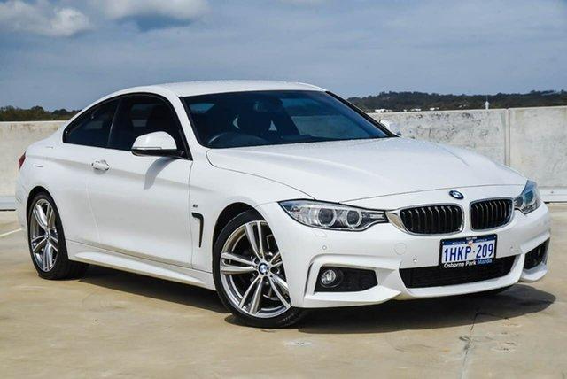 Used BMW 4 Series F32 428i M Sport Osborne Park, 2014 BMW 4 Series F32 428i M Sport White 8 Speed Sports Automatic Coupe