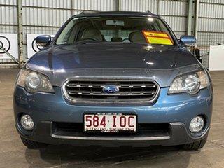 2004 Subaru Outback B4A MY05 R AWD Premium Pack Blue 5 Speed Sports Automatic Wagon