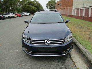 2014 Volkswagen Passat Type 3C MY14.5 130TDI DSG Highline Blue 6 Speed Sports Automatic Dual Clutch.